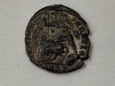 ROMAN IMPERIAL CONSTANTIUS II, 337-361 CE, BILLION HEAVY MAIORINA HIGH GRADE COIN