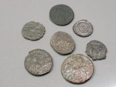 7 ROMAN COIN COLLECTION ALL IN NICE CONDITION