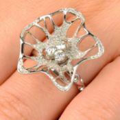 An 18ct gold diamond 'Allure' dress ring,