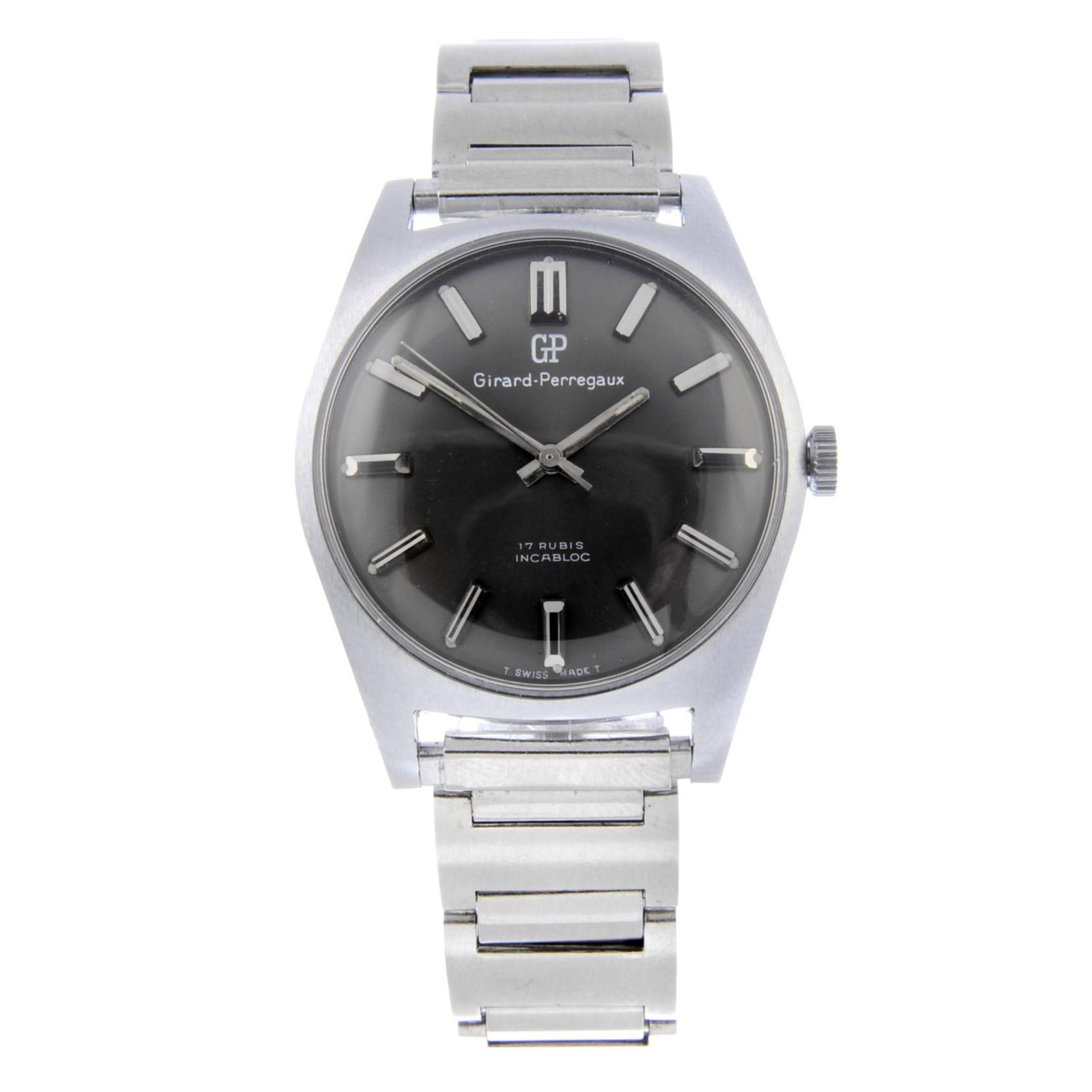 Los 30 - GIRARD PERREGAUX - a gentleman's bracelet watch.