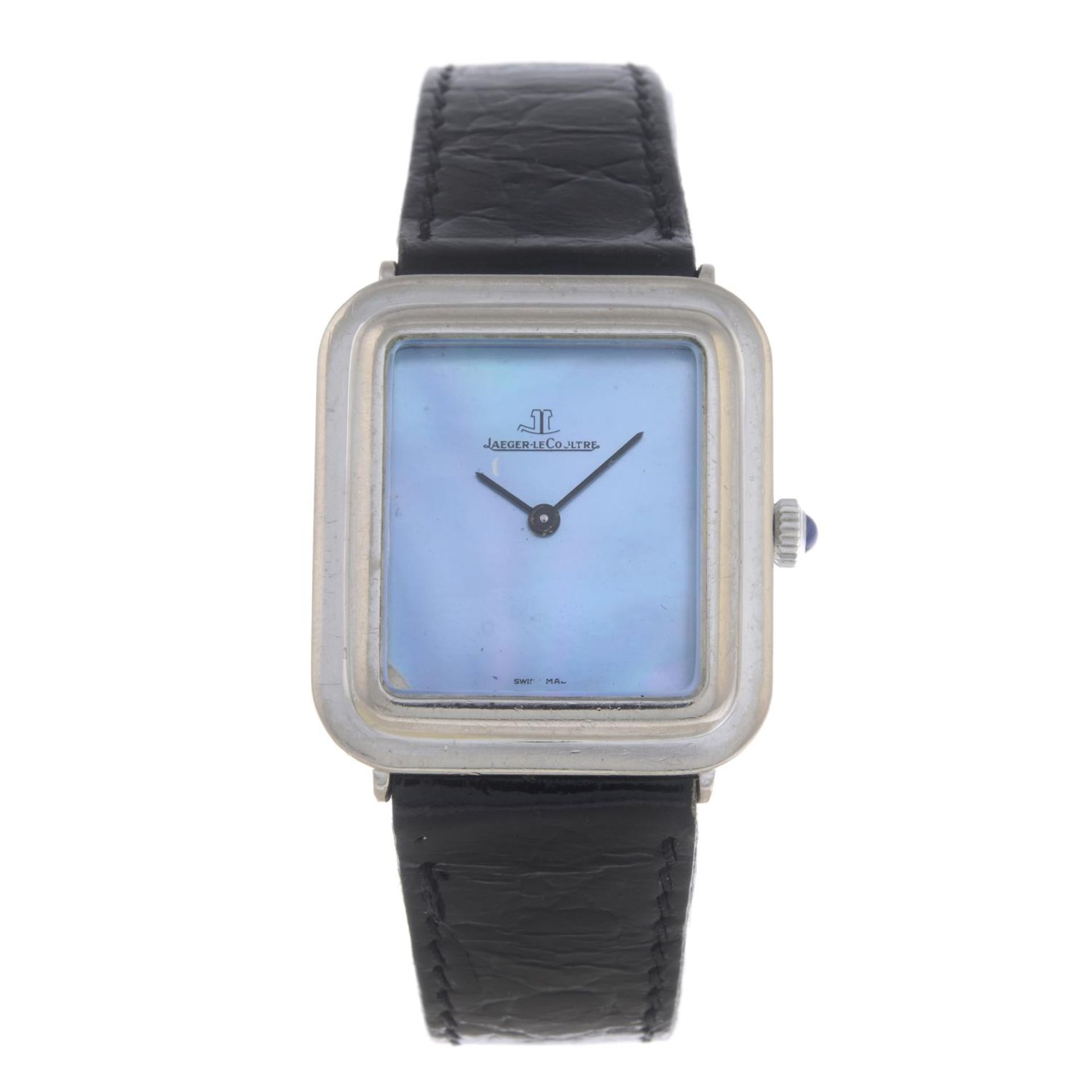 Los 38 - JAEGER-LECOULTRE - a lady's wrist watch.
