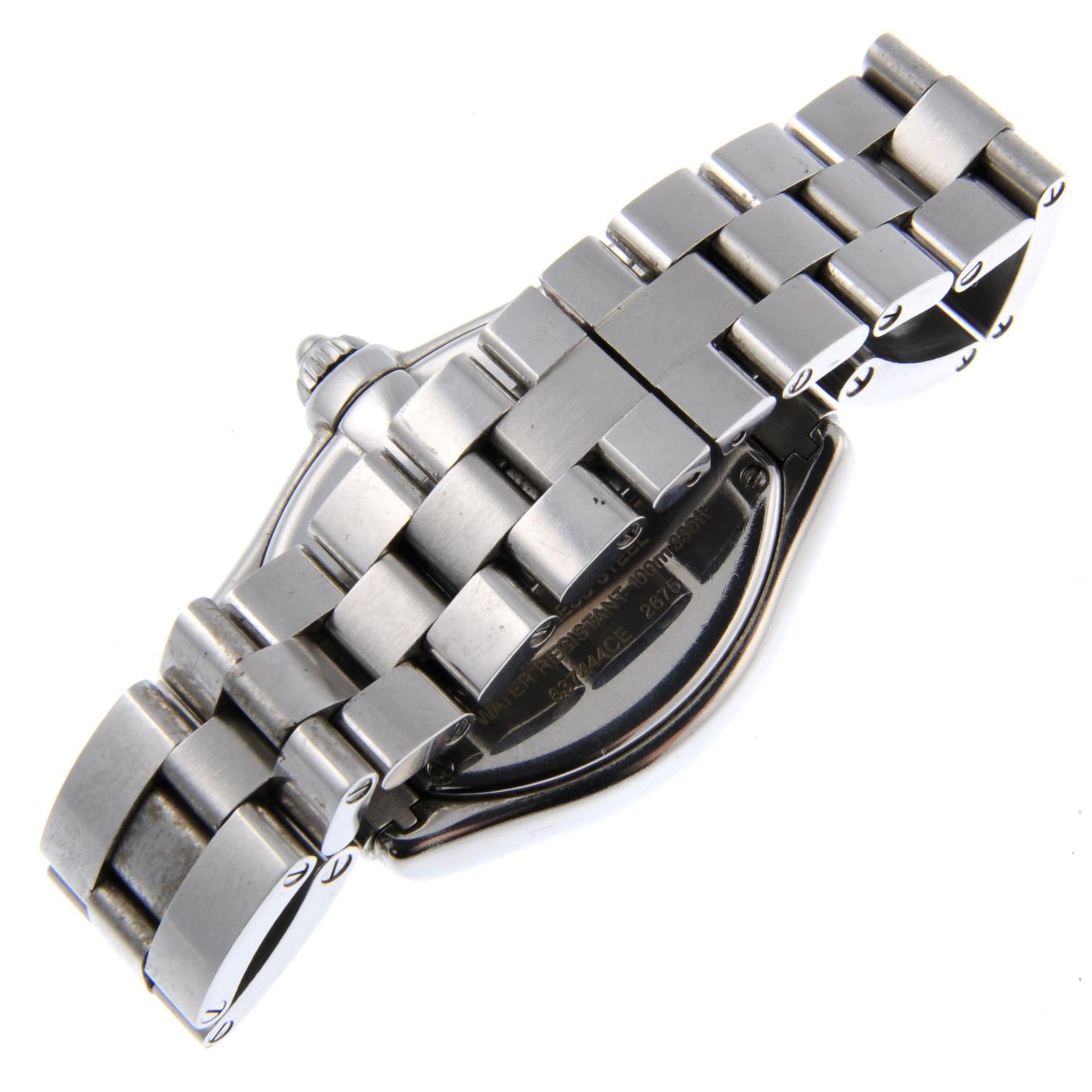 Los 19 - CARTIER - a mid-size Roadster bracelet watch.