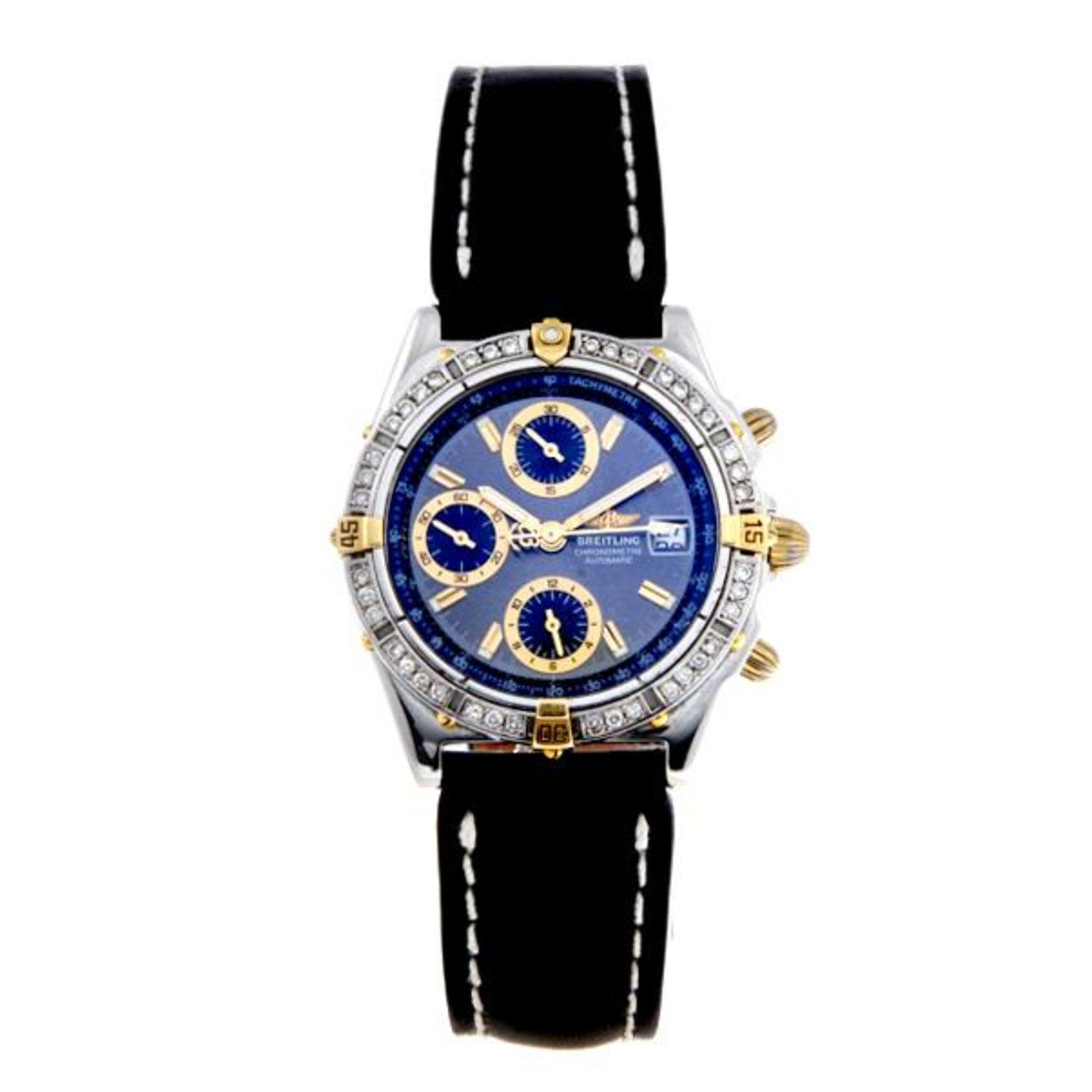 Los 7 - BREITLING - a gentleman's Chronomat chronograph wrist watch.