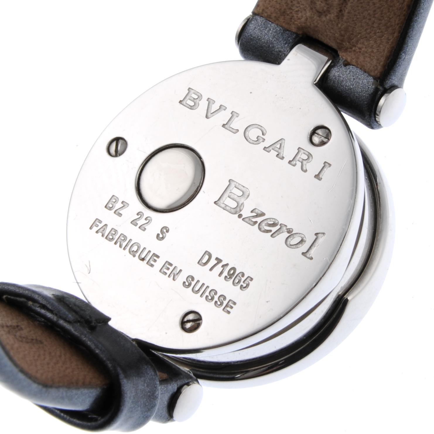 Lot 9 - BULGARI - a lady's B.zero1 wrist watch.