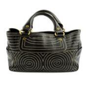 CÉLINE - a leather Boogie handbag.