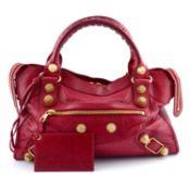 BALENCIAGA - an Agneau Giant 21 City handbag.