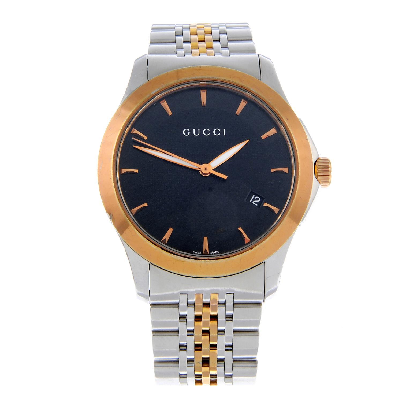 GUCCI - a gentleman's Timeless bracelet watch.