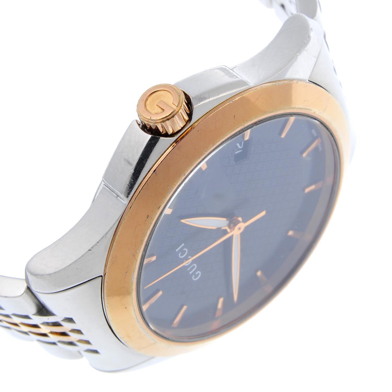 GUCCI - a gentleman's Timeless bracelet watch. - Image 3 of 4