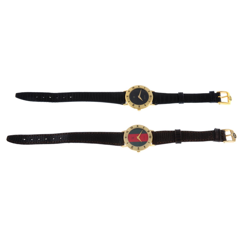 GUCCI - a lady's 3001L wrist watch. - Image 5 of 5