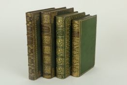 Bindings: Hunt (Leigh) Stories in Verse, 12mo L. 1855, full green cloth, gilt spine by W.
