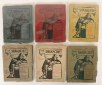 Landmark of the Irish Literary Renaissance - The Complete Set Periodical: The Shanachie,