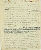 A Corkman's Voyage to New York in the Year of the Titanic Manuscript: A fascinating eight-page