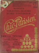 With Fine Coloured Plates Periodical: Chic Parisien, 13 issues between 1909 - 1911, atlas folio,