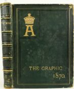 Bindings: The Graphic Illustrated Newspaper, Vol. 1 December 1869 - Vol.