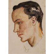 """ALFONSO AMORELLI (1898-1969) """"Profilo di ragazzo"""" - """"Boy Profile"""""""
