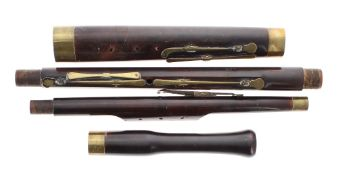 Good old English bassoon by Robert Preston circa 1820 and stamped Preston, London on the bell,