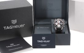 Tag Heuer Carrera Calibre 16 chronograph automatic stainless steel gentleman's wristwatch, ref.