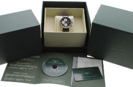 Ball Watch Co. Fireman Ionosphere automatic chronograph stainless steel gentleman's wristwatch, ref.