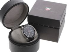 Tag Heuer Carrera automatic chronograph stainless steel gentleman's wristwatch, ref. CV2014-1,