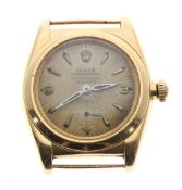 Rolex Oyster Perpetual Chronometer 18ct 'bubble-back' gentleman's wristwatch, ref. 3130, circa 1935,