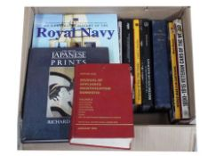Box of miscellaneous reference books and others