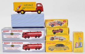 Atlas Editions Dinky motor vehicles - 24V, 111, 49D, 23D, 23C, 943, 920 and 943 (8)