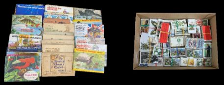 Good large collection of cigarette cards and picture cards, to include John Player, Brook Bond, W.
