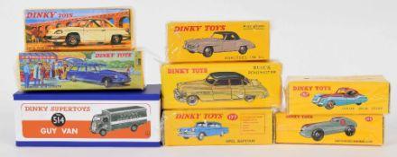 Atlas Editions Dinky motor vehicles - 177, 526157, 24V, 539 super detail, 24C, 23B, 514 (8)
