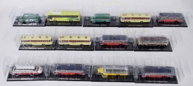 Thirteen Editions Atlas Classic Coaches Collection die cast scale models. Also a plastic toy