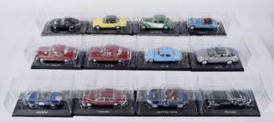 Twelve Editions Atlas scale die cast model Jaguar motor cars