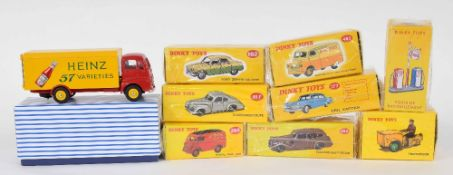 Atlas Editions Dinky motor vehicles - 162, 14, 39F 482, 49D 260, 177, 39A and 920 (9)