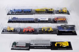 Editions Atlas 'World of Stobart' Special Edition - thirteen die cast scale model Stobart