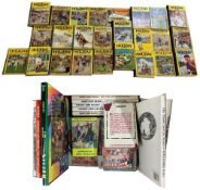 Greyfriars Holiday Annuals, 22 volumes; together with a box of further vintage annuals and books for