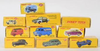 Atlas Editions Dinky motor vehicles - 260, 24N, 39A, 481, 23C, 262, 197, 551, 465, 105 and 159 (11)