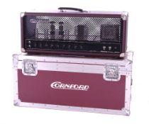 Bernie Marsden & Ringo Starr - Cornford MK50H guitar amplifier head, made in England, ser. no. SN#