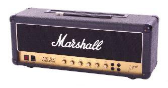 Bernie Marsden - 1987 Marshall JCM 800 Bass Series model 1992 Super Bass 100 watt MKII guitar