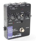 Bernie Marsden - T.C. Electronic Stereo Chorus + Pitch Modulator & Flanger guitar pedal, ser. no.