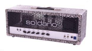 Bernie Marsden - Soldano Hot Rod 50 guitar amplifier head, made in USA, ser. no. 500520 *Acquired in