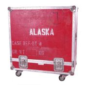Bernie Marsden & Alaska - heavy duty Packhorse Case Co Ltd flight case on wheels suitable for a 4