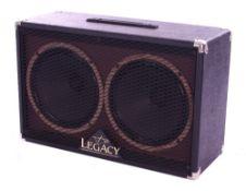 Bernie Marsden - Carvin Steve Vai Signature Legacy 2 x 12 guitar amplifier speaker cabinet, within