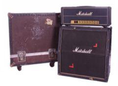 Bernie Marsden & Whitesnake - Bernie Marsden's number 1 Marshall half stack, including a 1977