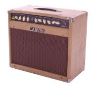 Bernie Marsden - Carvin Nomad 112 guitar amplifier, made in USA, ser. no. 114148, fitted with a