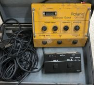 Bernie Marsden - Roland GR-100 synthesizer unit, made in Japan, ser. no. 060249, with Roland US-2