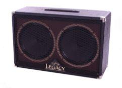 Bernie Marsden - Carvin Steve Vai Signature Legacy 2 x 12 guitar amplifier speaker cabinets,