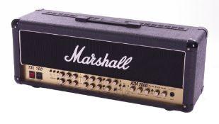 Bernie Marsden - 1997 Marshall JCM2000 Triple Super Lead TSL100 guitar amplifier head, made in