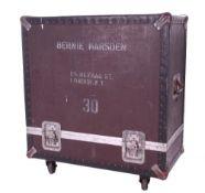 Bernie Marsden & Whitesnake - heavy duty flight case on wheels, previously used to carry a 4 x 12