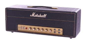 Bernie Marsden - 2006 Marshall JTM 45 model 2245 reissue guitar amplifier, made in England, ser. no.