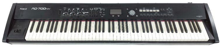 Roland RD-700NX Digital Stage Piano, ser. no. Z8A6582