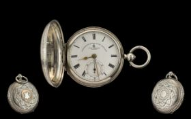 John Forrest London - Chronometer Maker To the Admiralty Large and Impressive Full Hunter Pocket
