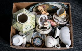 Large Collection of Vintage & Contemporary Pottery & China including plates, platters, vases, jugs,
